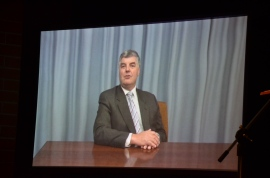 Member fro MacKillop Mitch Williams MP addressed the Public Meeting by pre-recorded message.