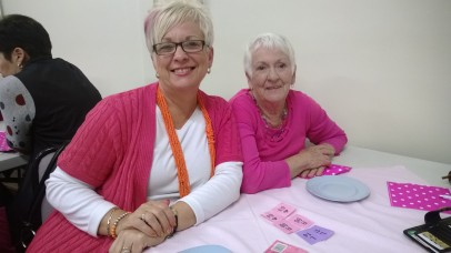 Lisa Braes and her mother Greta Haskett