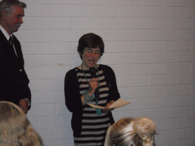 Julie Osborne was presented with the Lifetime Membership
