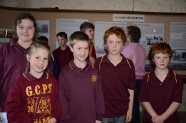 (L to R) Emily, Alice, Bryon, Angus and Patrick