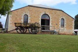 outside of the Woolshed