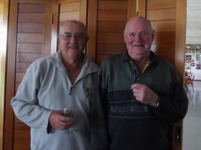 Runners-up John Scudds (left) & Alan Strother