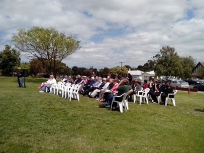 Those affected by Road Trauma gathered to remember.