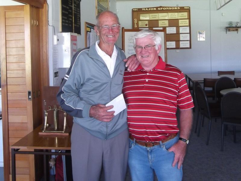 Winners Herb Henderson (left) & Alan Corell