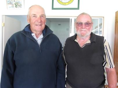 Runners up John Buhlmann (left) & Malcolm McRobert