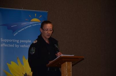 Senior Sergeant Tracy Gentgall