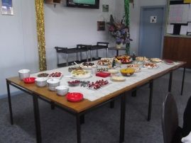 Dessert spread....yum!