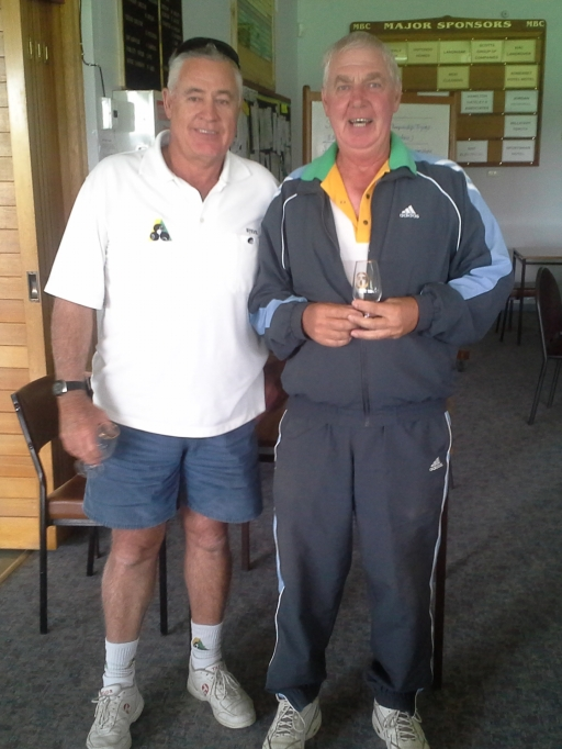 005. Hotondo 2.4.2 Runners Up Steve Carnellor (left) & Joe Fortanier