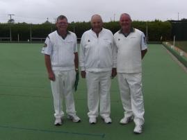 006. Triples Winners Iain Campbel, John Buhlmann & Rod Gibbs