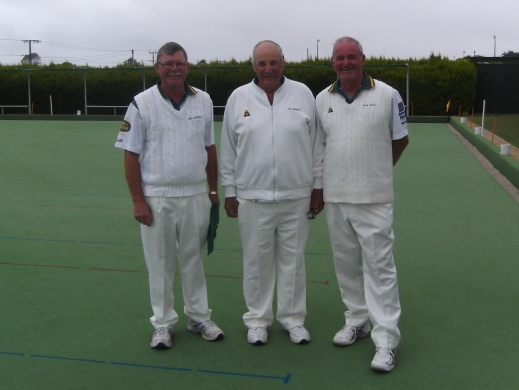 006. Triples Winners Iain Campbel, John Buhlmann & Rod Gibbs