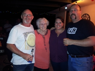 Don, Nel and the fan club