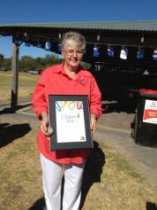 Citizen of the Year Elaine Donaldson