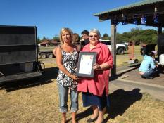 Recipient of the Community Events, The Beachport Duck Race received by Virginia Coonan and Ruth Sims