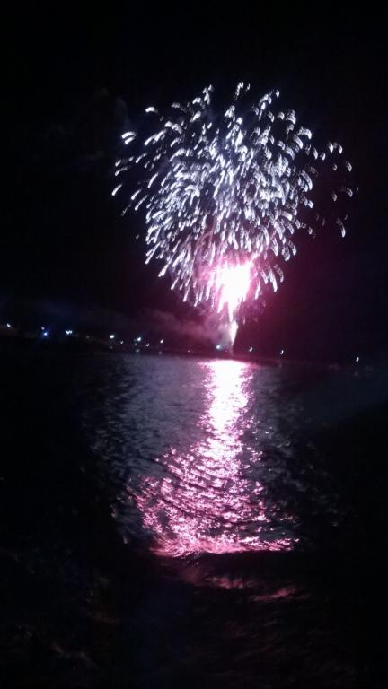 Spectacular fireworks at Beachport welcome 2014
