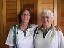Ladies Plate Winner Adriana Ross (left) & Runner-up Fay Richards