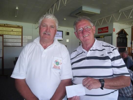 2-4-2 Winners John Madden (left) & Colin Pye