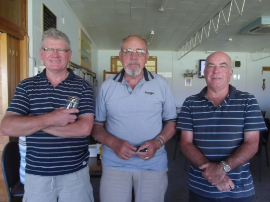2-4-2 Runners Up from left Jim Campbell, Ed Fitter& Ian Ross