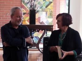 Michael Robotham and Janice Nitchshke