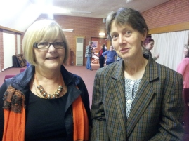 Pip Rasenberg and Dr Catherin Pye