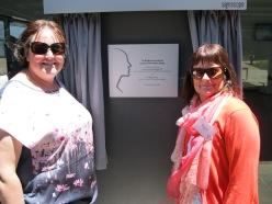 Sharon Cox (right)
