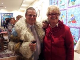 Noel Boyle with Cheryl Chambers