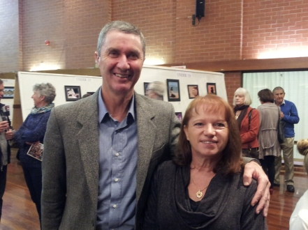 CEO Wattle Range Council Peter and wife Kathy Harriott
