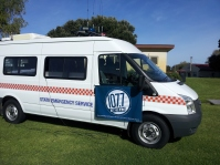 SES CommunicationS Vehicle provided Outside Broadcast facilities for 5 THE FM