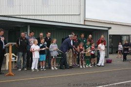 Cutting the ribbon (4)