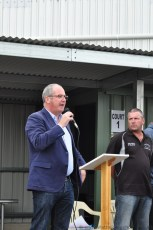 Recreation and Sport Minister Leon Bignell