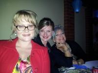 Jacinta Ridge RebekahLowe and Lisa Braes