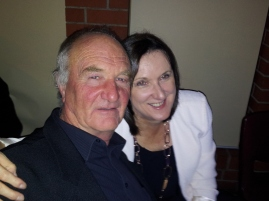 Cliff and Lisa enjoyed the spotlight
