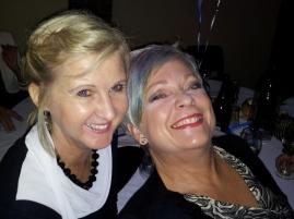 Friends Helen and Lisa