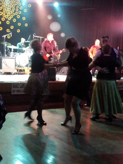 and again dancers kept the floor lively