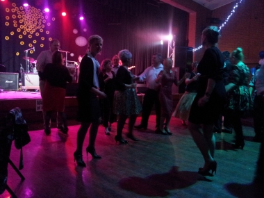Non-stop dancing