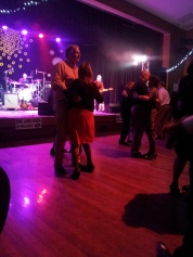 Dancers enjoyed the evening