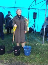Representing Volunteer, former Mayoress Helen Ferguson