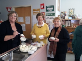 Annie Bell, Maryanne Stuckey and Nan Ballatyne Hospital Auxiliary