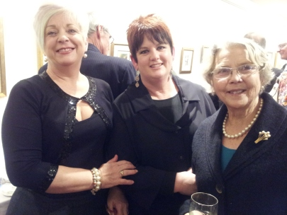 Lisa Braes, Maureen Brennan and Helen Ferguson