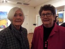 Glenys Cull and Mary Van Shaik