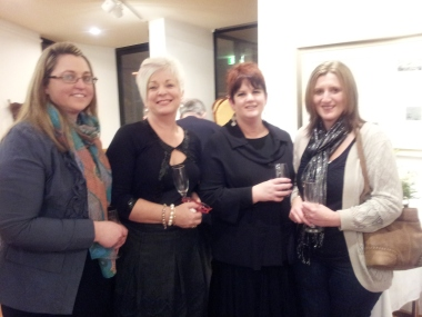 Kathy Bell, Lisa Braes, Maureen Brennan and Kathy Stewart