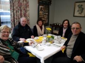 Sheila Boyle, Jim and Louise Hyland, Noel Boyle