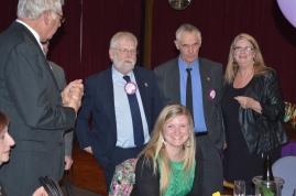 Leon Miels, Stewie Pounsett, Ralph Domachenz, Sheryl Lowe, front: Rebekah Lowe
