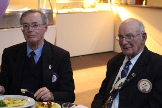 John Trafford and Len Teagle