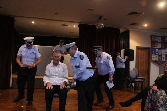 Police Raid on new president