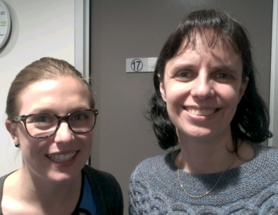 Medical Clinic Intern Catherine McLeod and Dr Michelle McIntosh