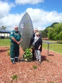 Brenton Dohnt, Rob Forgan and Dianne Egan Wattle Range Road Safety Group
