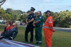 Police, Ambulance and SES are all affected by road rauma