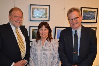 Dean Burrows, Sharon Cox and Rob Thornett