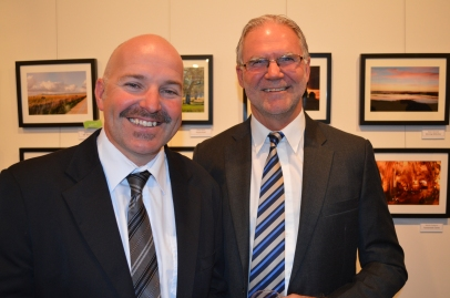 Peter Hanlon and Cr Dennis Muhovics
