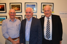 Keith Sneath, Cr Rob Dycer and Cr Peter Dunnicliffe